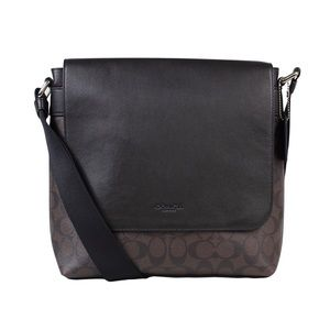 Coach Mahogany Leather Messenger Bag 54771